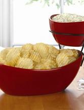 Cucina Vita 2 Tier Oval Serving Platter