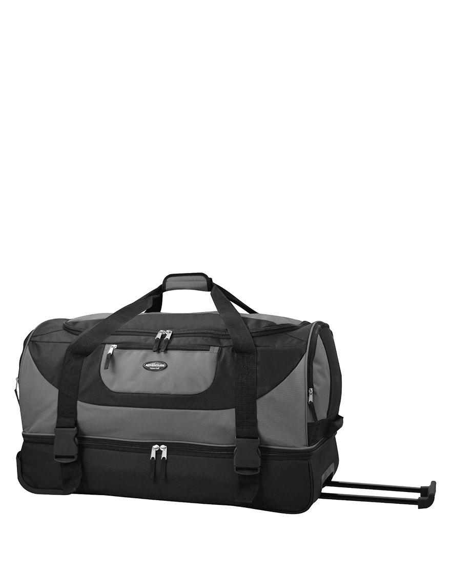 TPRC Gray Duffle Bags Travel Accessories