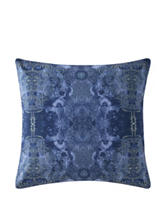 Poetic Wanderlust by Tracy Porter Gigi Blue Quilt Printed Pillow