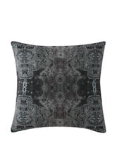 Poetic Wanderlust by Tracy Porter Gigi Grey Quilt Printed Pillow