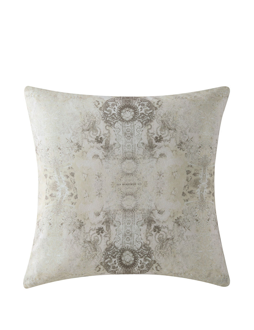Tracy Porter Taupe Decorative Pillows