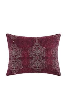 Tracy Porter Red / Black / White Pillow Shams