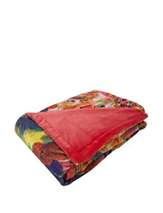 Tracy Porter Red Blankets & Throws