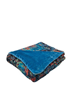 Tracy Porter Teal Blankets & Throws