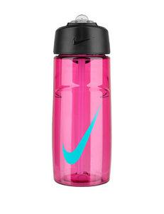 Nike 16-oz. Pink T1 Flow Swoosh Water Bottle