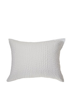 Vince Camuto White Pillow Shams