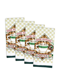 Design Imports 4-pc. Essential Terry Coffee Dishtowel Set