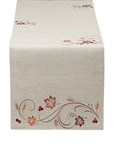 Design Imports Red Table Runners Table Linens