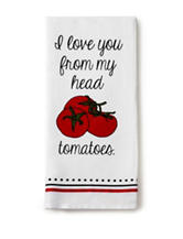 Design Imports I Love You Dishtowel