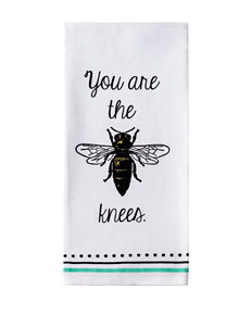 Design Imports You Are the Bees Knees Dishtowel