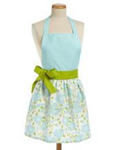 Design Imports Angel Blue Daisy Garden Apron