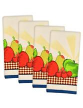 Design Imports 4-pk. Fruit Essential Terry Dishtowels