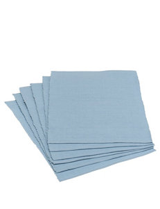 Design Imports 6-pk. Solid Color Light Blue Placemats