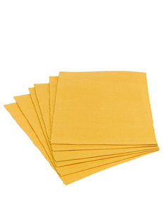 Design Imports Yellow Placemats Table Linens