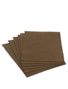 Design Imports Brown Placemats Table Linens