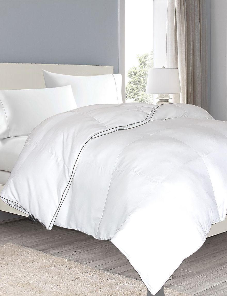 Elle White Down & Down Alternative Comforters