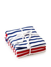 Design Imports 2-pk.Assorted Striped Dishtowels