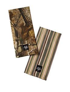 Realtree® 2-pk. Camo & Stripe Dishtowels
