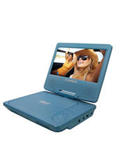 Sylvania Blue 7 Inch Portable DVD Player
