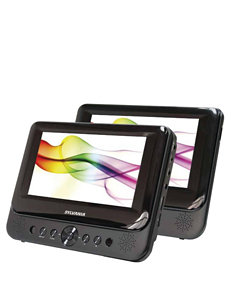 Sylvania 7 Inch Dual-Screen Portable DVD Player