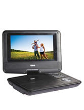 Naxa 7 Inch TFT LCD Swivel-screen Portable DVD Player