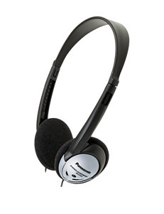 Panasonic Black Headphones Tech Accessories