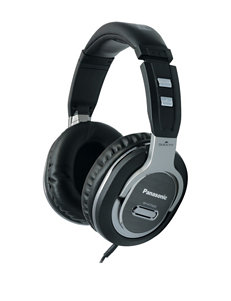 Panasonic Black Headphones Home & Portable Audio