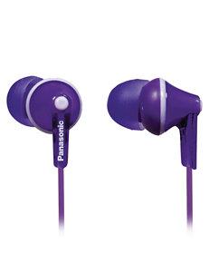 Panasonic Purple Headphones Home & Portable Audio