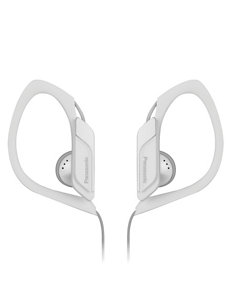 Panasonic WhiteSport Clip Headphones With Microphone