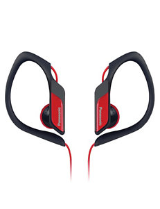 Panasonic Red Headphones Home & Portable Audio