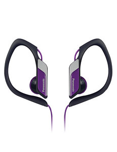 Panasonic Purple Headphones Home & Portable Audio