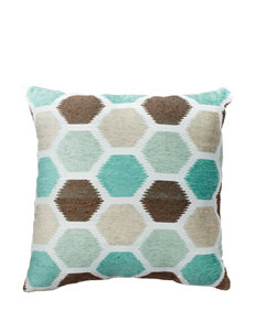 Home Fashions International Aqua Decorative Pillows Outdoor Decor