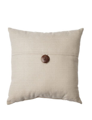 Dynasty Decorative Pillows : Dynasty Single Button Linen Decorative Pillow Stage Stores