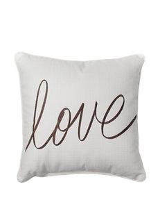 Home Fashions International Love Decorative Pillow