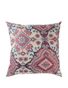 Home Fashions International Red / Navy Decorative Pillows
