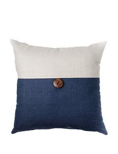 Home Fashions International Navy / White Decorative Pillows