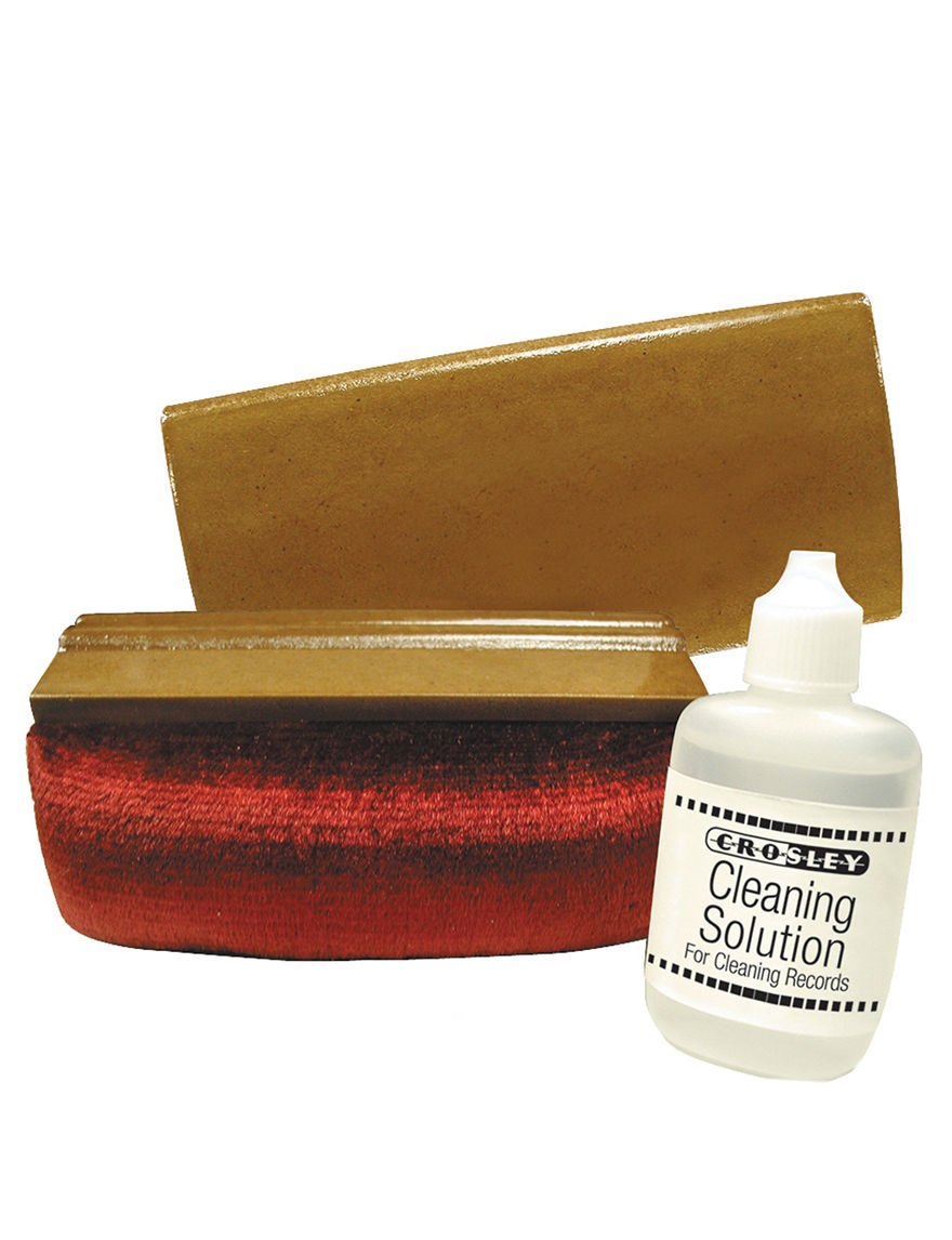 Crosley Radio Brown Screen Care & Cleaning Turntables Home & Portable Audio Tech Accessories