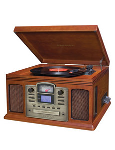 Crosley Radio Brown CD Players & Boomboxes Home & Portable Audio