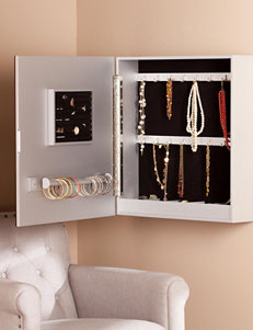 Southern Enterprises Blakelyn Wall Mount Jewelry Armoire