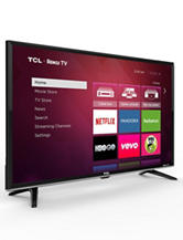 TCL 50 Inch HD 1080P LED 120Hz Roku Smart TV – Metallic Design