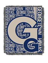 Georgetown Hoyas Double Play Jacquard Throw