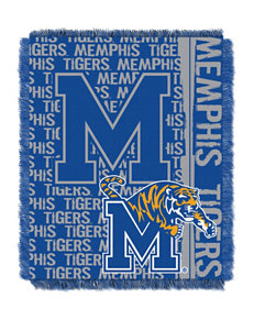 Memphis Tigers Double Play Jacquard Throw