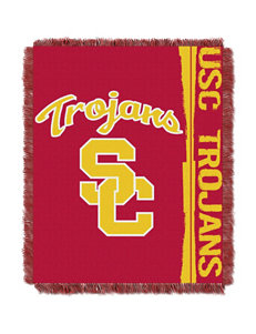 University of Southern California Double Play Jacquard Throw