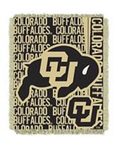Colorado Buffaloes Double Play Jacquard Throw