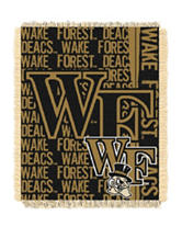 Wake Forest Demon Deacons Double Play Jacquard Throw