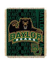 Baylor University Double Play Jacquard Throw