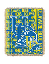 Delaware Fightin' Blue Hens Double Play Jacquard Throw