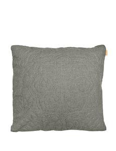 Compass Grey Decorative Pillows