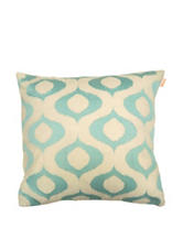 Compass Tyra Embroidered Decorative Pillow