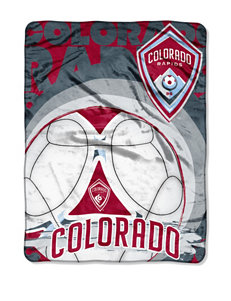 Colorado Rapids Raschel Throw